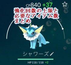 PokemonGO強化回数